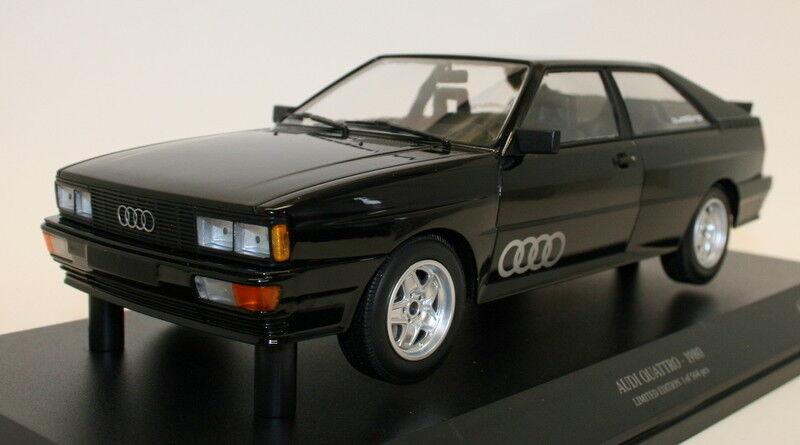 MINICHAMPS 1 18 Diecast Voiture Modèle 155 016121-Audi Quattro  1980-noir met  vente en ligne