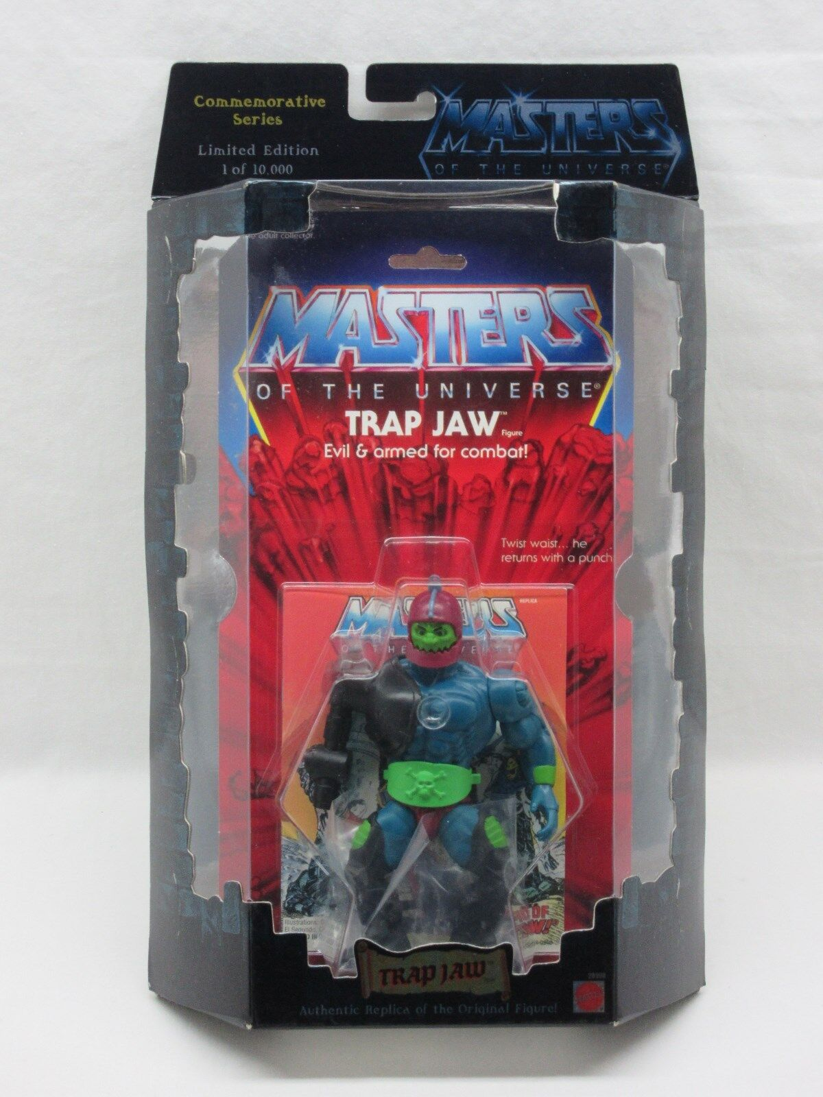 MOTU,Commemorative TRAP JAW,MISB,sealed,Masters of the Universe,MOC,He-man