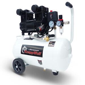 KnappWulf Flüster Kompressor Luftkompressor KW1030 Silent 30L Airbrush 69dB