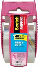 Scotch Shipping Amp Packing Tape Dispenser 188 X 222 Yds Heavy Duty All Box Typ