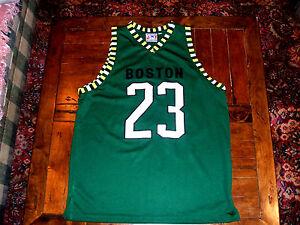 9c2fe53bb Image is loading Boston-Celtics-Urban-Rapper-23-Green-Unique-Basketball-