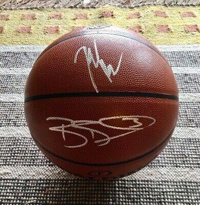 new products 82e42 f28b0 John Wall & Bradley Beal Signed Autograph Full Size Basketball NBA Wizards  | eBay