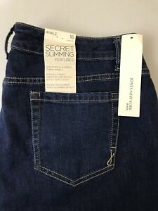 New Jones New York Women S Soho Ankle Stretch Blue Jeans Size 16 Ebay