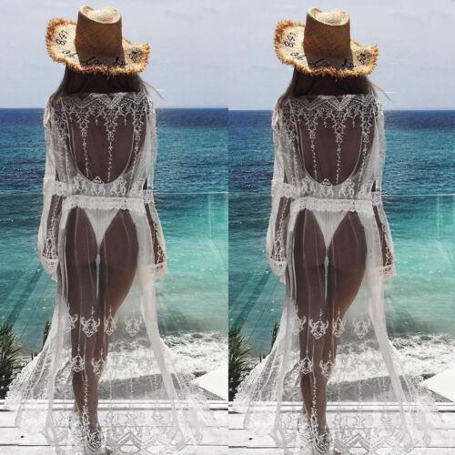 Bikini Summer Swimwear Beach Womens Long Cover Kaftan Ladies Wear Dress Sexy Up w5778qd
