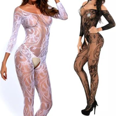 Sexy Erotico Lingerie Rete Calze Corpo Body Senza Cavallo Motivo Nightwear-mostra Il Titolo Originale