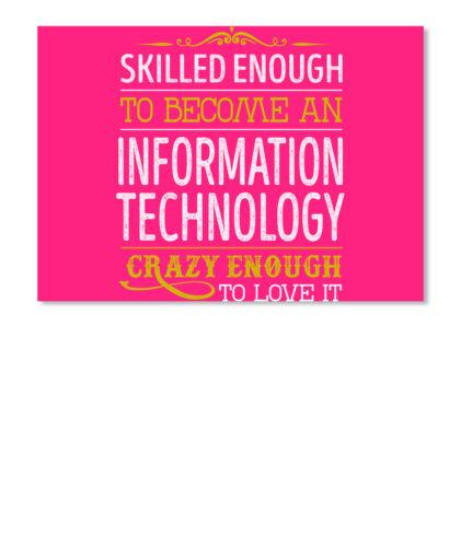 Information Technology Love It Sticker Landscape