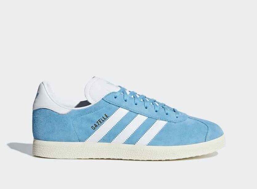 Adidas Originals Gazelle Zapatillas Gamuza Cuero Hombre Zapatillas Zapatillas Gazelle Zapatos Turquesa 7e9495