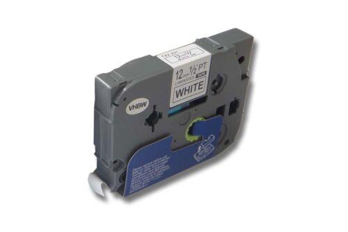 original vhbw® Schriftband Tape 12mm für BROTHER P-Touch H100R TZE-231