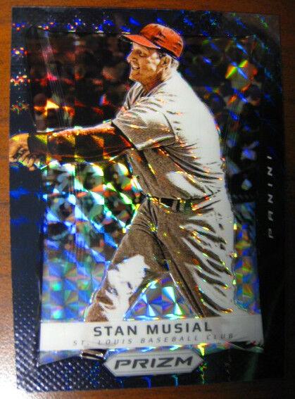 Stan Musial 2012 Prizm Black Finite Superfractor 1/1 - TRUE 1/1 - RARE!!
