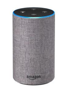 Amazon-Echo-2nd-Generation-Wireless-Alexa-Speaker-Heather-Grey-Fabric