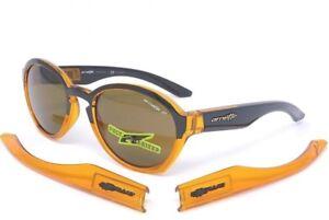 6eb09006c2eed Arnette MOOLAH Sunglasses AN4170-07 2124 83 Transl. Amber  Black ...