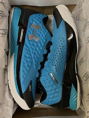 Under Armour UA Curry 1 One Low SC30 Panthers shoes 1269048-480 NEW