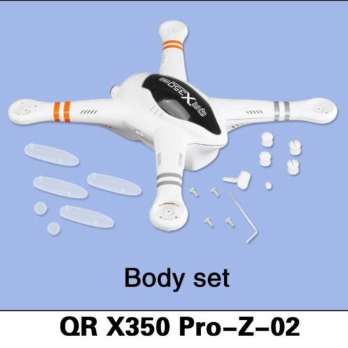 Walkera Part QR-X350 PRO-Z-02 Body shell set US stock