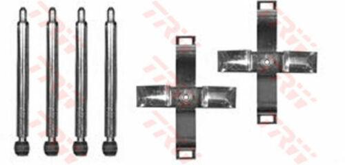 Almohadilla de Freno Kit de montaje PFK387 TRW 16012710 92612710 genuina calidad Reemplazo