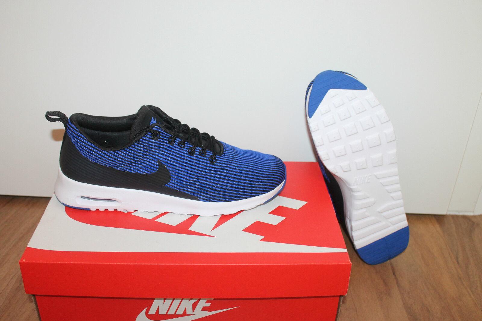 Zapatos promocionales para hombres y mujeres Nike Air Max Thea Damen Running Schuhe Blau Weiß alle Größen Neu mit Karton