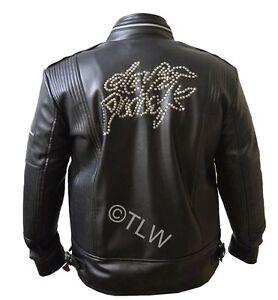 08fda8681 Details about Daft Punk Leather Jacket Electroma Hero Robot Rivet , All  Sizes ,