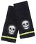 Sourpuss Phantom Bath Skull Skeleton Emo Punk Rocker Cotton Towel Set SPHW188