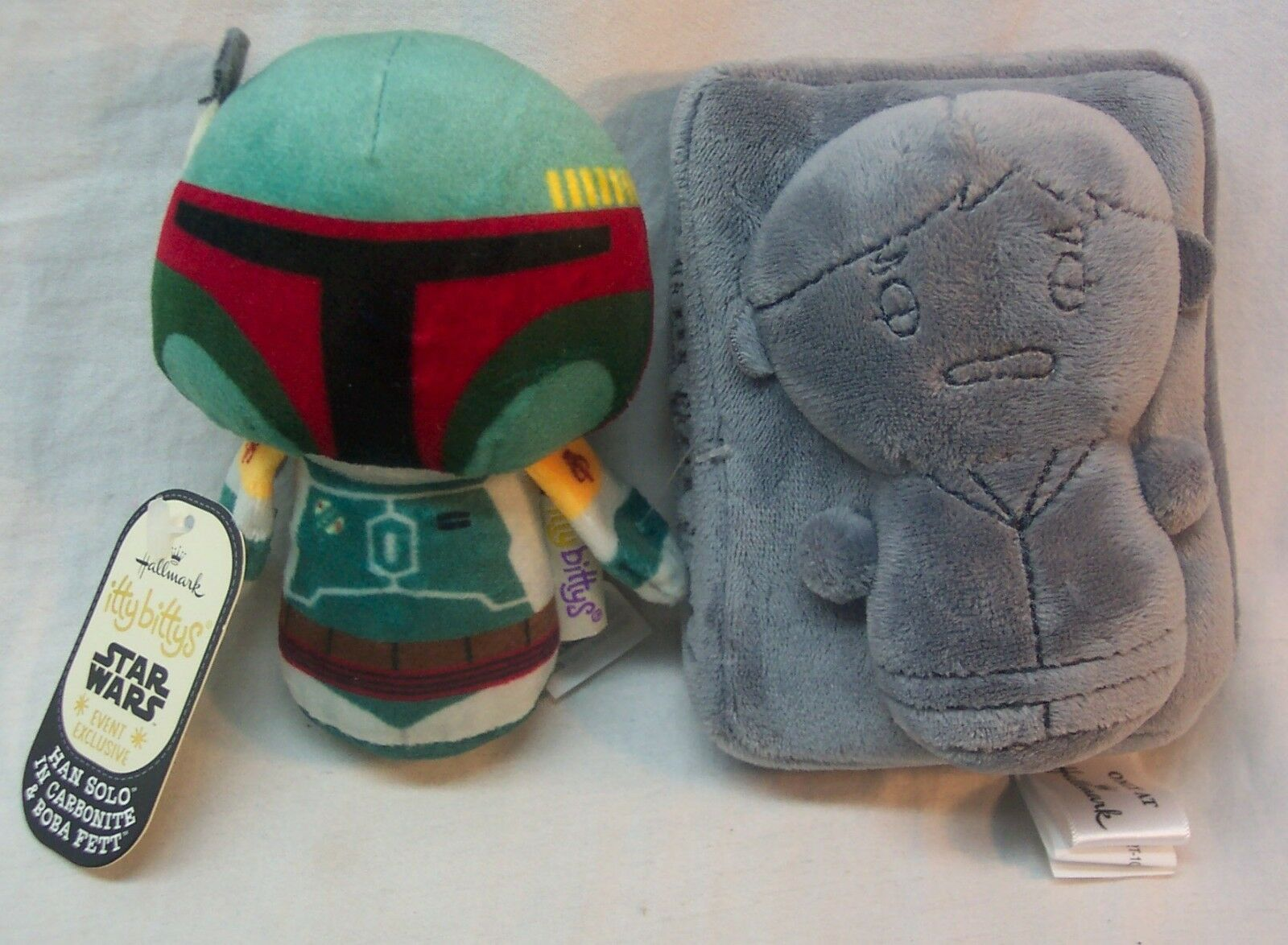 BOBA FETT HAN SOLO CARBONITE Hallmark Itty Bittys Star Wars EXCLUSIVE TOY NEW