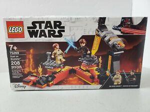 LEGO Star Wars Duel on Mustafar 75269 208 Piece Building Toy Set Kit Disney New!
