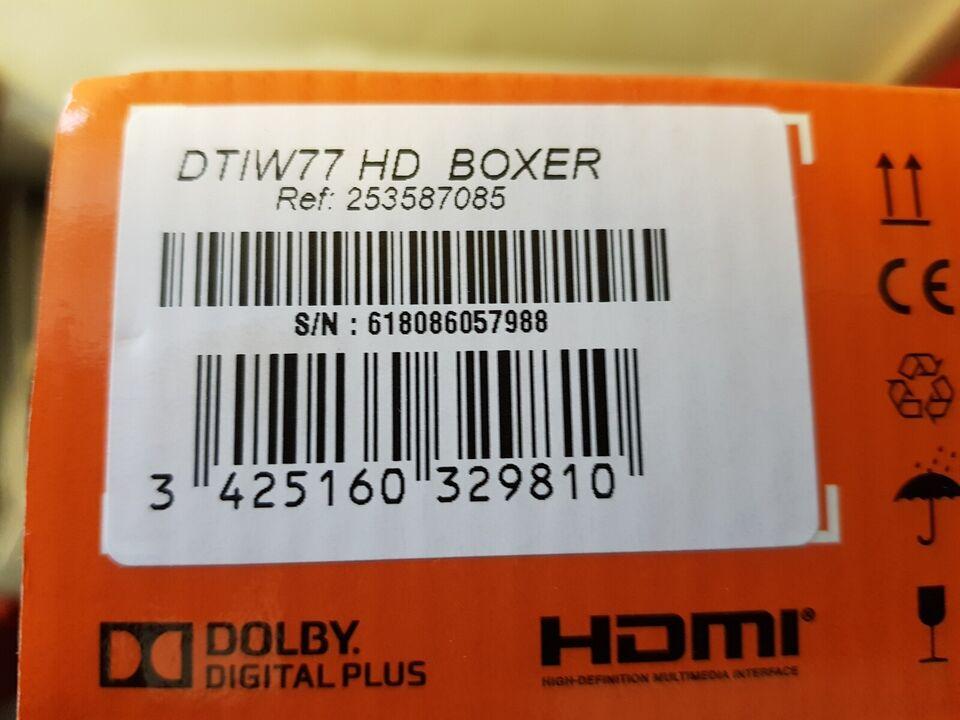 Tv-boks, Boxer, DTIW77 HD
