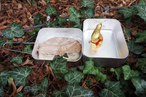 Survival Kochgeschirr Set Topf Pfanne Camping Alu Kochen Essgeschirr #17591