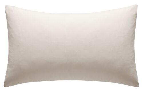 "Standard Polycotton Oxford Pillow Cases 19/"" x 29/"" 1 Pair"