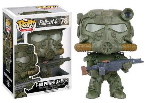 Funko Exclusive Fallout 4 POP Army Green T-60 Armor POP