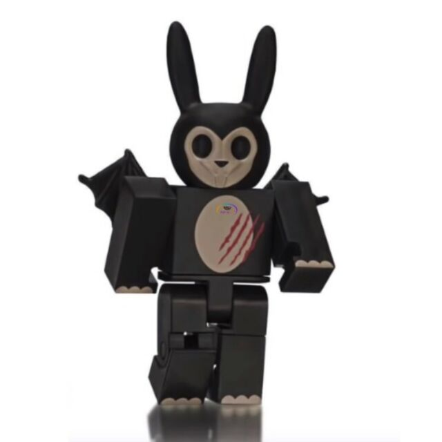 Black Raptor Tail Roblox Roblox Hunted Zombie Bunny Series 6 Orange Cube Kids Toy Pack