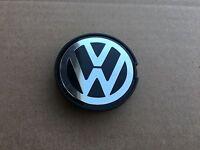 1 Pc 55mm Vw Volkswagen Chrome Center Wheel Hub Cap Emblem 6n0601171