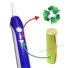 Akkutausch Akkuwechsel Oral B Braun Pulsonic Smart 3746 3722 3723 Rep.d.Dichtung