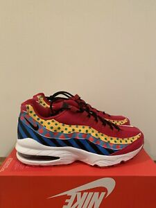 Details about Nike Air Max 95 Baltimore Home (GS)   CI4422 600 Gym RedBlackWhite   Size 6.5Y