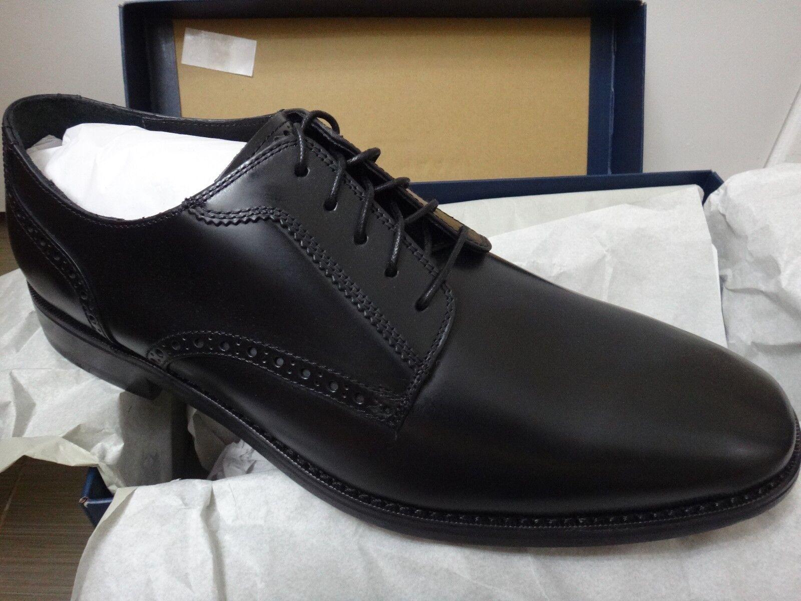 Cole Haan Giroaldo Luxe Plain Toe  Oxford II Scarpe Nere (Nuova con scatola, formato 11.5)  Sconto del 70% a buon mercato