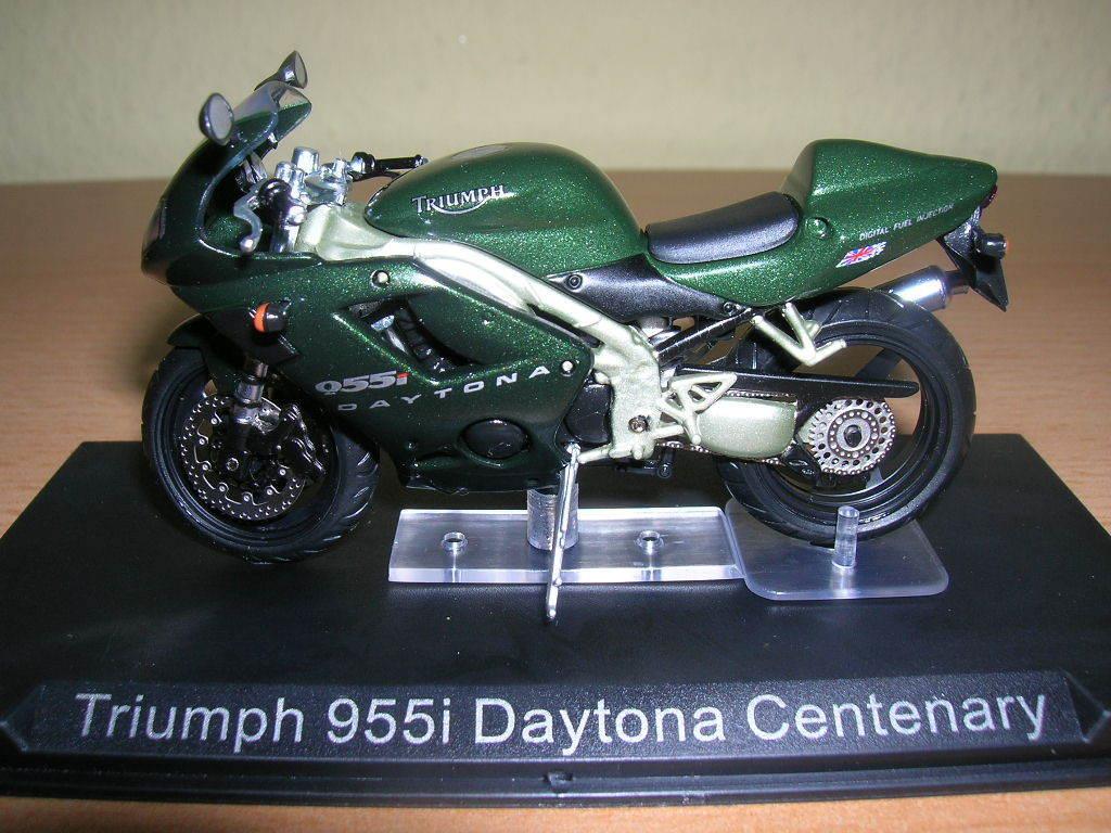 IXO ALTAYA triumph 955i Daytona Daytona Daytona Centenary vert foncé moto 1:24 Motorbike 691579
