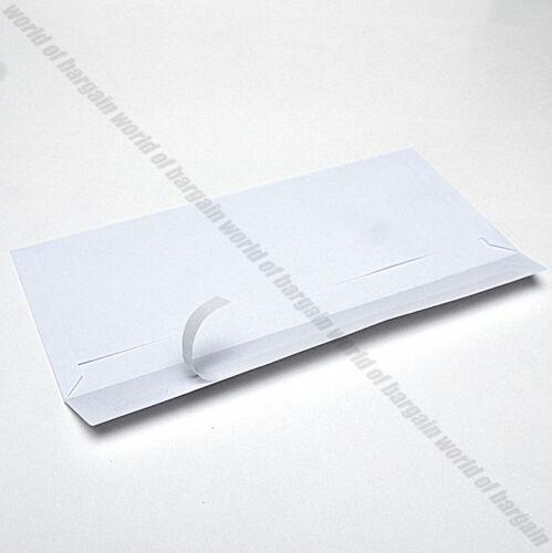 50 Self Sealing ENVELOPES #10 Mailing Letter White Shipping Postal Peel Seal C17