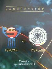 WM-Qualifikation 10.09.2013 Färöer Inseln - Deutschland