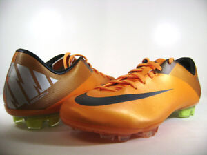 442047 800 NEW MENS NIKE MERCURIAL MIRACLE II FG ORANGE
