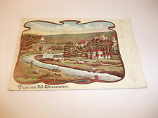 alte Postkarte Ansichtskarte Künstlerkarte PK AK Gruß aus Dill-Weissenstein 1903