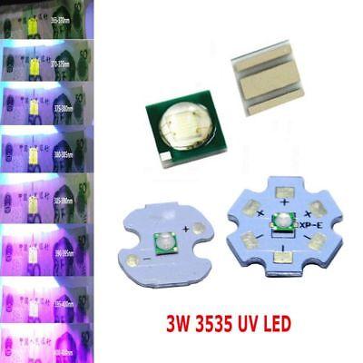 20mm star base 700mA for Aquarium 10pcs 3W Ultra Violet UV LED 420-425nm