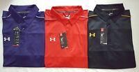 Under Armour Heat Gear Men's Solid Golf Loose Fit Polo Shirt M,l,xl,2xl,3xl