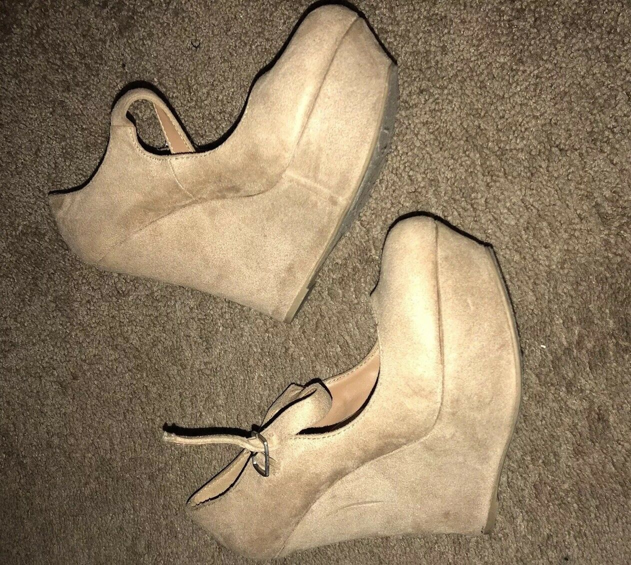 Men's/Women's Suede Wedges strap heels Size 7 New product and Lush design Different styles and product styles 1ac35c