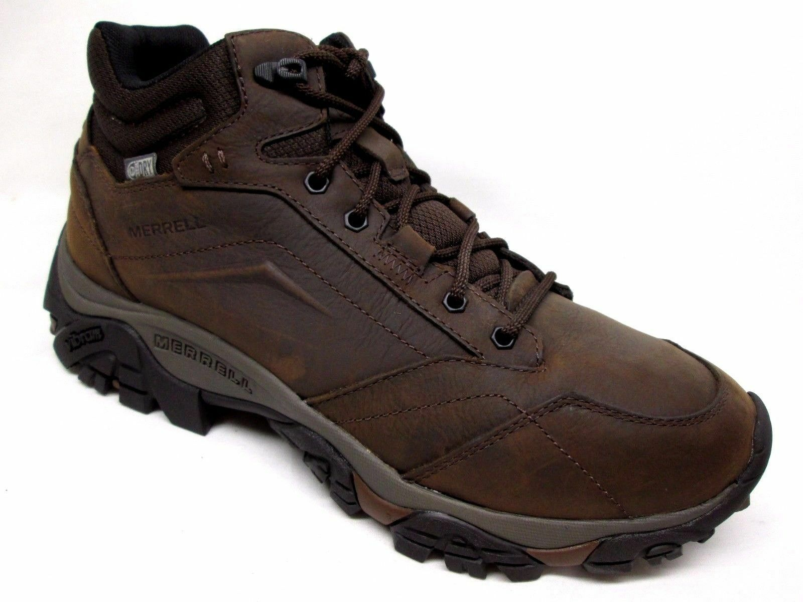 Merrell Moab Adventure Waterproof Hiking Boots Mens Dark Earth J91819 Size 9.5 M