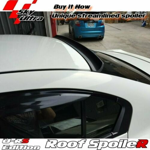 Flat Black 218 URS Rear Roof Spoiler Wing For 2003-2010 BMW 6-Series E63 Coupe