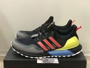 Red Yellow EG8097 NMD Mens Size