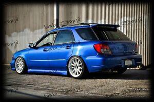 Details About Subaru Impreza Wrx Sti Estate Sport Wagon Gg Mk Ii 2000 2007 Rear Roof Spoiler