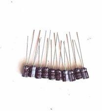 10PCS IN LOT NICHICON 10uF 25V CAPACITOR 4x7mm 105℃