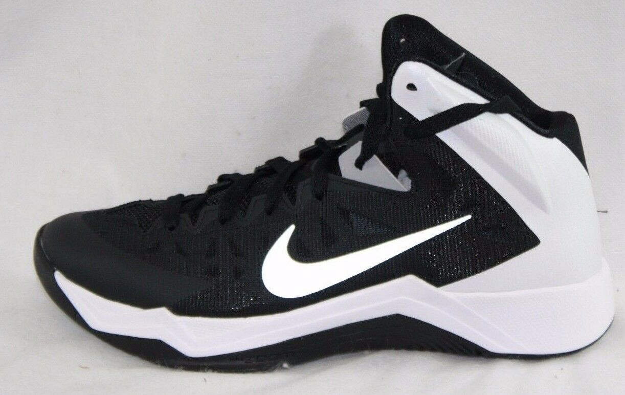 uk availability e51a7 8a0af ... NEW Womens NIKE Zoom Hyperquickness TB 599515 599515 599515 001 Black  White Sneakers Shoes 10470c