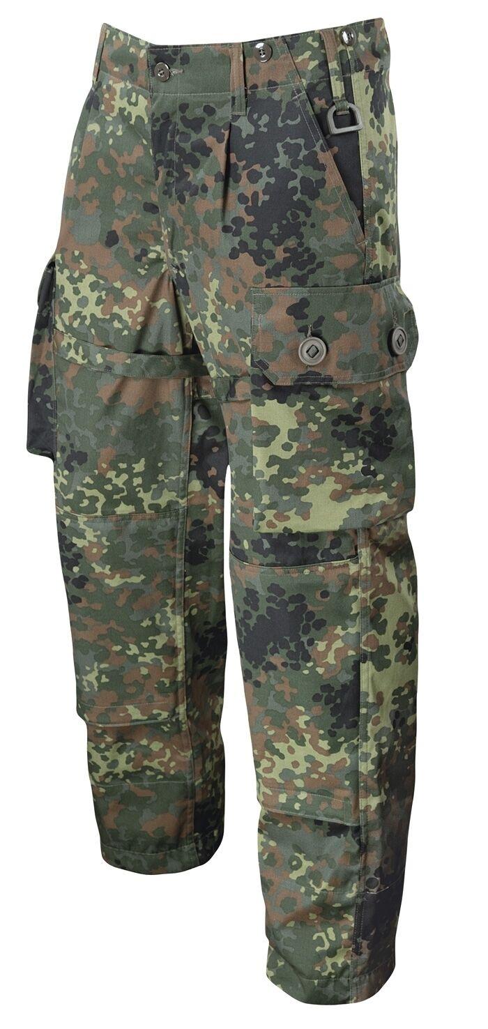 Leo Köhler Bundeswehr uso lucha pantalones German Army Pants camuflaje