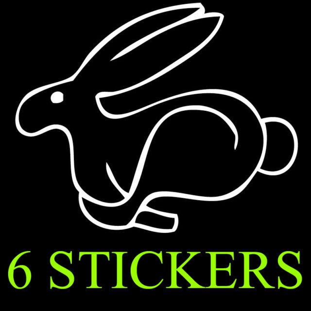 Volkswagen Peace sign fingers,vw Bug,WR6,Jetta,Sticker,GTI Rabbit vinyl graphics