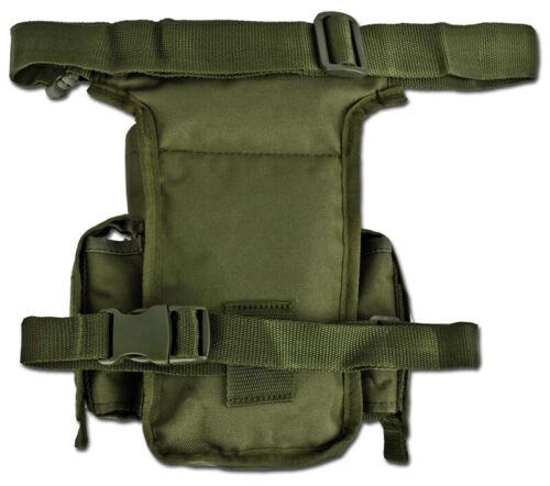 Multi Pack Mil-Tec Tactique Airsoft Voyage Hanche Cuisse Sac d/'Épaule Taille Étui