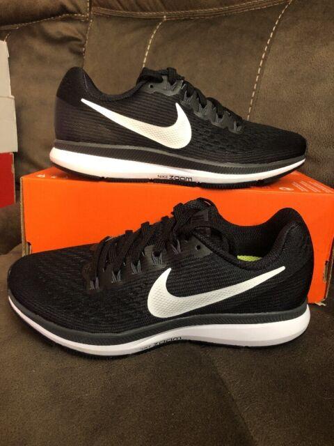 1238bb16bc624 Womens Nike Air Zoom Pegasus 34 Running Shoes Size 6 Black White 880560 001